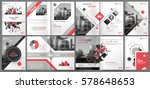 abstract binder art. white a4... | Shutterstock .eps vector #578648653