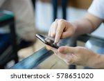 online banking payment... | Shutterstock . vector #578651020