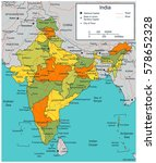 india map with selectable...   Shutterstock .eps vector #578652328