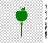 vegetarian food sign...   Shutterstock .eps vector #578654668