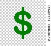 dollars sign illustration. usd... | Shutterstock .eps vector #578659894