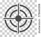 target icon. vector... | Shutterstock .eps vector #578660308
