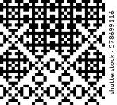 vector seamless pattern.... | Shutterstock .eps vector #578699116