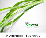 green lines. abstract vector...