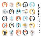 modern flat vector illustration ... | Shutterstock .eps vector #578702470