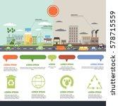 environment  ecology... | Shutterstock .eps vector #578715559