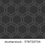 ornamental seamless pattern.... | Shutterstock .eps vector #578720734