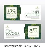 gift voucher template for spa ... | Shutterstock .eps vector #578724649