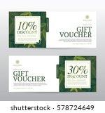 gift voucher template for spa ... | Shutterstock .eps vector #578724649