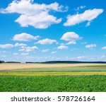 Rural Scenic Landscape With ...