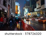 new york  ny   march 14  2016 ... | Shutterstock . vector #578726320