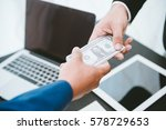 business concept  businessman... | Shutterstock . vector #578729653