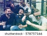 craft beer booze brew alcohol... | Shutterstock . vector #578757166
