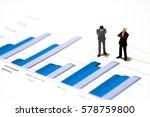 miniature figures businessmen... | Shutterstock . vector #578759800