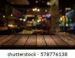 blur coffee shop or cafe... | Shutterstock . vector #578776138