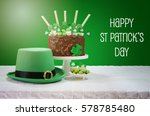 happy st patricks day  march 17 ... | Shutterstock . vector #578785480