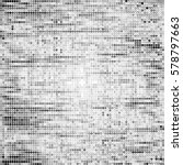 abstract grunge grid polka dot... | Shutterstock .eps vector #578797663