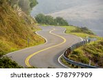 highway 1 on the pacific coast  ...   Shutterstock . vector #578797909