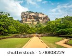 sigiriya the iconic ancient... | Shutterstock . vector #578808229