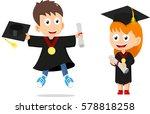Happy Graduation Kids