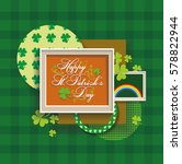 happy st. patrick day | Shutterstock .eps vector #578822944