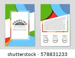 abstract vector layout... | Shutterstock .eps vector #578831233