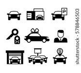 auto dealership  car industry ... | Shutterstock .eps vector #578846503