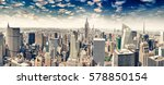 amazing panoramic view of... | Shutterstock . vector #578850154
