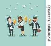 businessmen characters have an... | Shutterstock .eps vector #578854699
