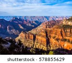 amazing nature of grand canyon... | Shutterstock . vector #578855629