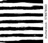 hand drawn horizontal stripes... | Shutterstock .eps vector #578878060