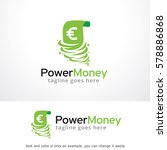 power money logo template... | Shutterstock .eps vector #578886868