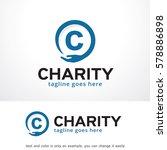 letter c logo template design... | Shutterstock .eps vector #578886898