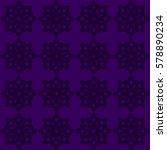 vector seamless pattern. modern ... | Shutterstock .eps vector #578890234