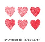 vector set  a  collection of 6... | Shutterstock .eps vector #578892754