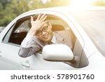 portrait of pissed off  asian... | Shutterstock . vector #578901760