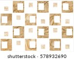 the tiles are the good texture... | Shutterstock . vector #578932690