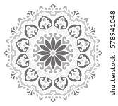 mandala. vector ethnic oriental ... | Shutterstock .eps vector #578941048