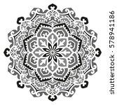 mandala. vector ethnic oriental ... | Shutterstock .eps vector #578941186