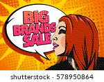 big brands sale design with... | Shutterstock . vector #578950864