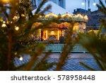 christmas carousel | Shutterstock . vector #578958448