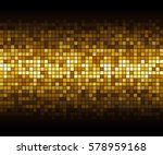 gold mosaic background  on... | Shutterstock .eps vector #578959168