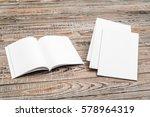 blank catalog  magazines book...   Shutterstock . vector #578964319