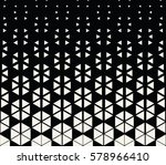 abstract geometric hexagon... | Shutterstock .eps vector #578966410