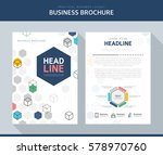 business brochure illustration | Shutterstock .eps vector #578970760