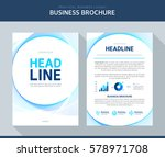 business brochure illustration | Shutterstock .eps vector #578971708