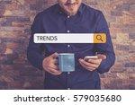trends concept | Shutterstock . vector #579035680