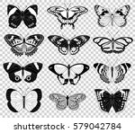 collection of original vector... | Shutterstock .eps vector #579042784