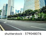 the road in the city of... | Shutterstock . vector #579048076