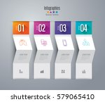 infographics design vector and... | Shutterstock .eps vector #579065410